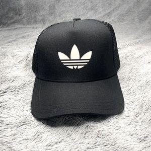 Black Adidas Trucker Hat